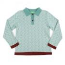 Poloshirt damian - polo Damian knit sage green