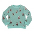 Jade sweater met hertjes - Mika sweater jacquard deer