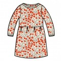 "Kleedje ""Anna"" met fijne bloemetjes - dress anna flowers"