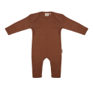Bruin kruippakje - Jumpsuit amber brown