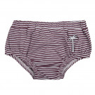 Paars gestreepte bloomer met palmboom - Bloomer palm purple stripes  (stapelkorting)