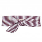 Paars gestreept haarlint  - Headband purple stripe (stapelkorting)