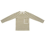 Olijf gestreepte sweater - Olive stripe sweater