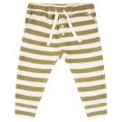 Olijf gestreept broekje - Olive stripe pants