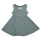 Dress forest stripe