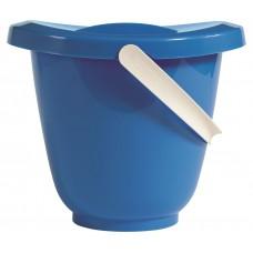 Blauwe bademmer + luieremmer - luma