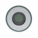 Sage green digitale badthermometer