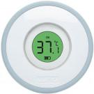 Celest blue digitale badthermometer