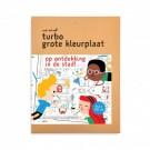Turbo grote kleurplaat : Op ontdekking in de stad