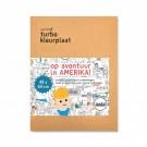 Turbo kleurplaat : Op avontuur in Amerika
