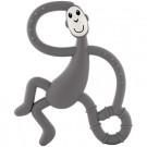 Grijs bijtspeeltje matchstick monkey dancing