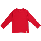 Rode t-shirt lange mouwen - longsleeve basic red