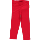 Rode legging- basic red legging
