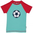 T- shirt korte mouwen met voetbal - top shortsleeves football
