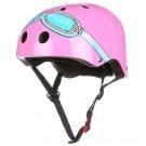 Roze helm met bril: XXS