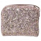 Roze glitter handtas - Pink glitter cross body bag
