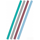 Herbruikbare flexi rietjes blauw