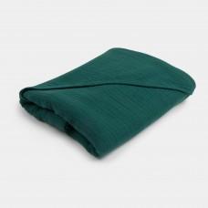 Donkergroene XL-badcape - Bathcape emerald