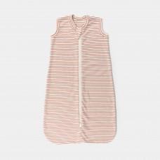 Slaapzak met rode strepen - Sleeping bag La linea clay