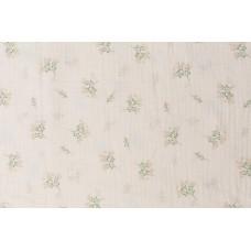 Ecru waskussenhoes met bloemetjes - Changing pad cover dawn meadow