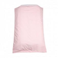 Dekbedovertrek ledikant Lis - all overprint roze