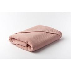 Oud roze XL badcape - Bathcape muslin blush