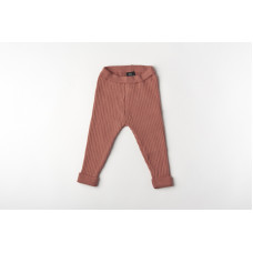 Legging organic knitwear blush