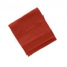 Set van 2 roestkleurige tetradoeken - chili