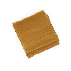 Set van 2 mosterdgele tetradoeken - cinnamon