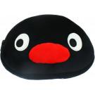 Zwarte velours opberzakje Pingu - Novelty pencil case Pingu