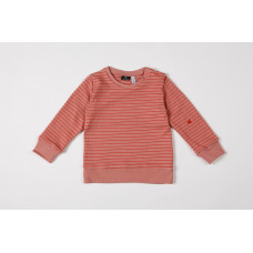 Sweatshirt organic interlock seaqual taboo la linea blush