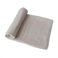 XL-tetradoek - Extra soft muslin swaddle - Fog