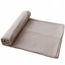 XL-tetradoek - Extra soft muslin swaddle - Natural stripe