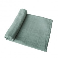 XL-tetradoek - Extra soft muslin swaddle - Roman Green