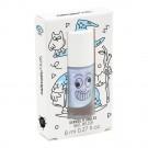 Paarsblauwe afwasbare nagellak met parelmoereffect - Merlin