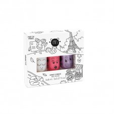 Set van 3 afwasbare nagellakjes : city 3