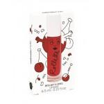 Verzorgende lipgloss met kerzenmaak- Rolette cerise