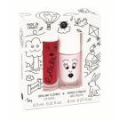 Setje met lipgloss en nagellak - kidscottage