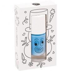 Blauwe afwasbare nagellak - freezy