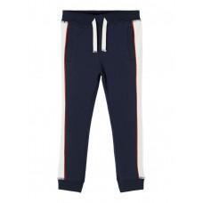 Sportieve blauwe broek - NmmBonker sweat pants dark sapphire (**)