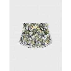 Short met palmboomprint - Nkfjosephine shorts desert sage