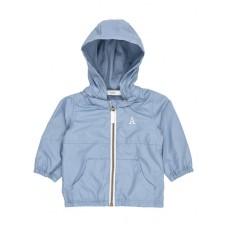 Grijsblauw regenjasje - ashley blue nitmag jacket