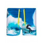 Zwembroek met surfer - nitzedi swim short nautical blue