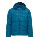 Petrolblauwe jas - lyons blue jacket