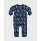 Blauw kruippakje met de dwergen van sneeuwwitje - nitdwarfs dress blue
