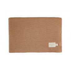 Dekentje gebreid - So natural knitted baby blanket biscuit