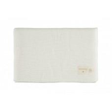 Dekentje gebreid - So natural knitted baby blanket milk