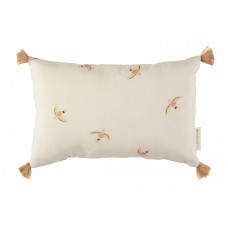 Rechthoekig kussen met vogels - Sublim cushion nude haiku bird