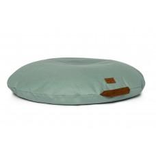 Grijsgroen groot zitkussen - Sahara beanbag floor cushion eden green