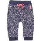 Paars broekje met licht roze blokjes - midnight blue slim hamlim - maat 62 (Geboortelijst Moon B.)